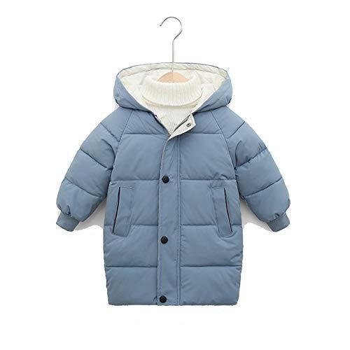 Chaqueta acolchada para niños, impermeable, para niños y niñas, abrigo de invierno con capucha, apto para caminar y senderismo, 3140 cm