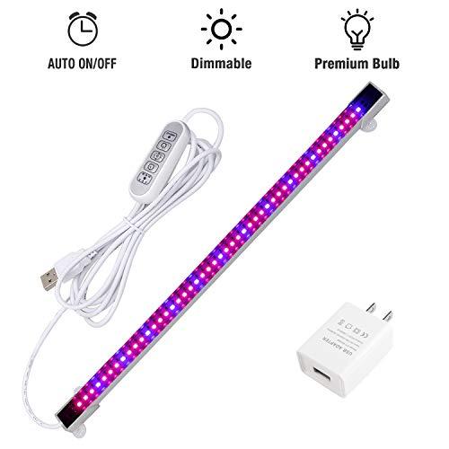 Sondiko LED Grow Light Strip, Auto On&Off Every Day...