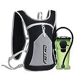OMASKA Trinkrucksack mit Trinkblase Wasserrucksack Rucksack Bladder Tasche für Rucksackreisen,...