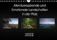 Atemberaubende und Emotionale Landschaften in der Pfalz (Wandkalender 2022 DIN A4 quer): Schoene Landschaftsmotive der Pfalz (Monatskalender, 14 Seiten )