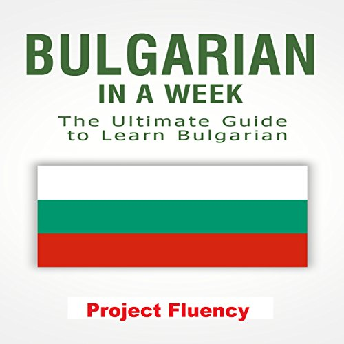 Bulgarian in a Week audiobook cover art