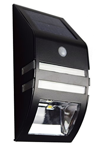 【ブラック 1個】 ZAZ 屋外 LED センサーライト 太陽光充電 ソーラー充電 玄関 ガーデンライト 防水 IPX4 新型 明るさセンサー 人感センサー ソーラーライト 自動点灯 自動消灯 モーションセンサー y-56-black