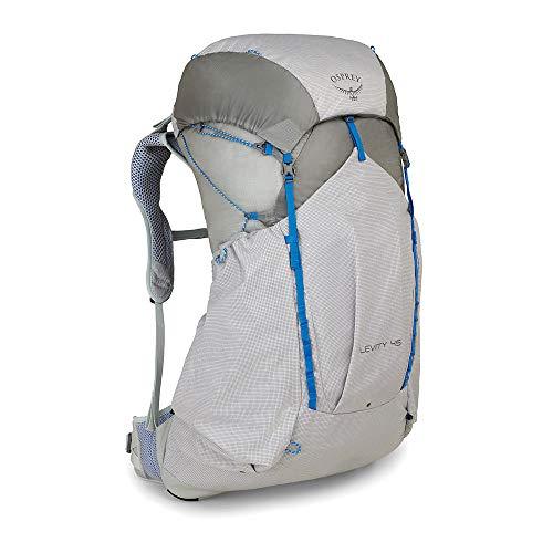 Osprey Levity 45 ultraleichter Trekkingrucksack für Männer - Parallax Silver (SM)