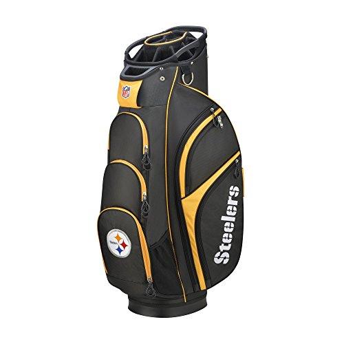 Buy Bargain Wilson 2018 NFL Golf Cart Bag, Pittsburgh Steelers