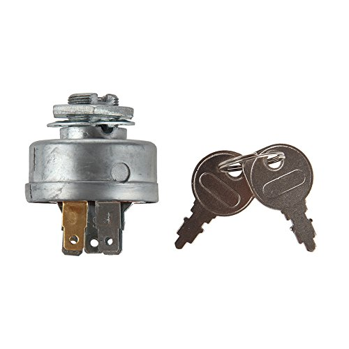 Yersual STD365402 24688 725-0267 925-0267 21064 42106 Craftsman Riding Lawn Tractor Mower Ignition Starter Switch with 3 Position 5 Termials 2 Keys for MTD Craftsman,John Deere,Toro,Snapper,Scag