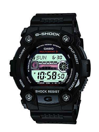 Casio Men's G-Shock Quartz Watch with Resin Strap, Black, 30 (Model: GW-7900-1CR)