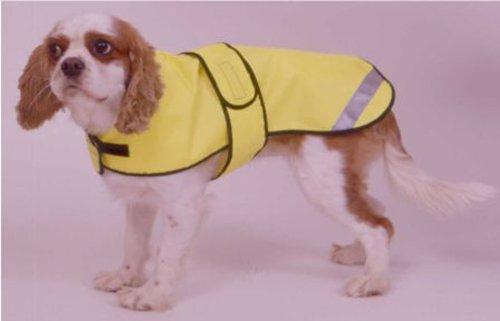 Cosipet - Abrigo de seguridad, 41 cm, color amarillo