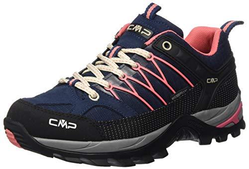 CMP – F.lli Campagnolo Damen Rigel Low Wmn Shoe Wp Trekking- & Wanderhalbschuhe, Blau (Blue-Flamingo 15ME), 38 EU