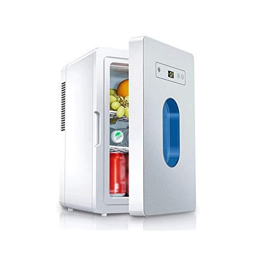 Sdesign Mini Nevera eléctrica más Fresca y más, 16 litros/Mini refrigerador pequeño 12V Bebidas Nevera portátil manija Tiny Retro Frigorífico (Color : Tyrant Gold)