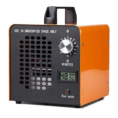 ELINP - Generatore di ozono industriale, 10.000 mg/ora, purificatore d'aria commerciale, ozonizzatore per stanza, contro fumo, odori di auto e animali domestici