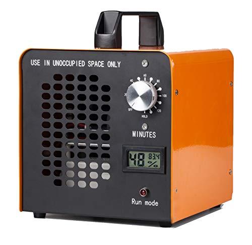 Elinp - Generador de ozono industrial, 10.000 mg/h, limpiador de ozono comercial, dispositivo de ozono para habitaciones, humo, coches y mascotas