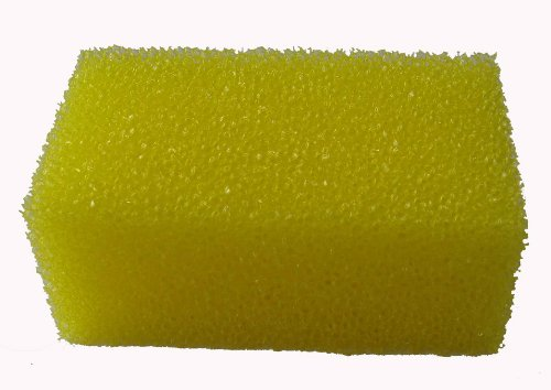 10x Putzschwamm Reinigungsschwamm für Putzschstein Insektenschwamm Grösse: 10cm x 4cm x 6cm
