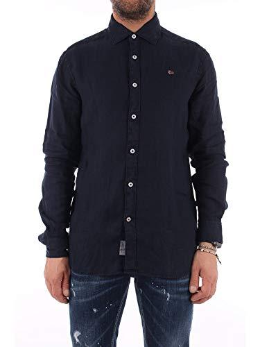 NAPAPIJRI Gervas 2 Camicia, Blu (Blu Marine 176), 41 (Taglia Produttore: Medium) Uomo