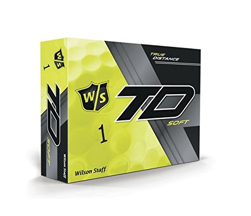 Wilson WGWP39350 True Distance W/S Soft Ye 12-Ball, Yellow (Pack of 12), Large