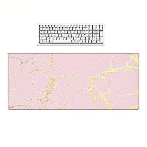 HonGHUAHUI fotobehang roze groot formaat antislip afwasbaar voor desktop-pc decoratie 300X800X3MM A08
