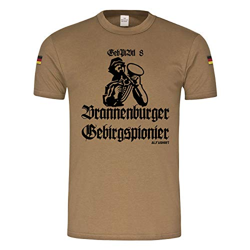Copytec 22107 BW Tropen Spionier de montagne de montagne de pionnier de montagne 8 Bundeswehr PiBtl Militaire # - Vert - Large