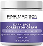Anti Aging Dark Spot Corrector Cream for Face & Body - Made in USA - Skin Nourishing Age Spot Remover Women Men 4 OZ