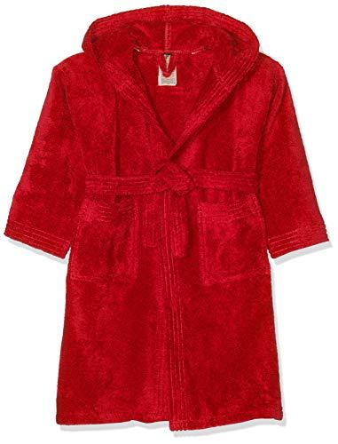 ARENA Core Soft Kleid Jr Bathrobes, Jugend Unisex, 002015, rot/weiß, 43812