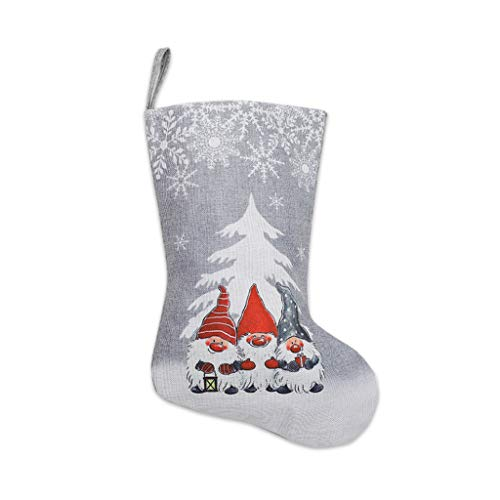Gulang-keng Weihnachtsstrumpf Schneeflocke Schwedische Gnom-Weihnachtssocken Hängenden Kamin-Baum-Dekorations-Geschenk-Süßigkeitstasche Nikolausstiefel Zum Befüllen Und Aufhängen