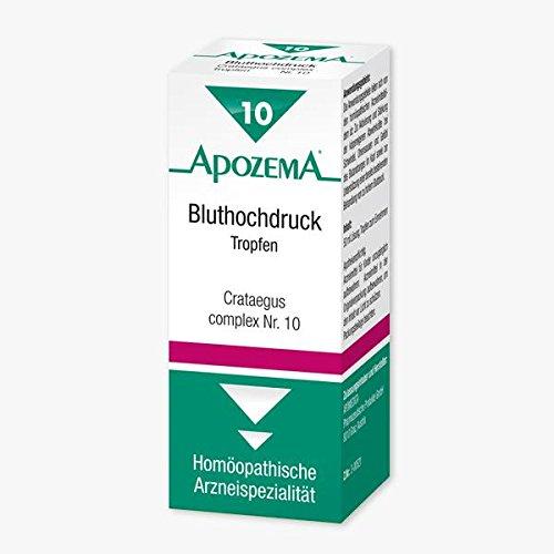 APOZEMA COMPLEX TROPFEN NR 10 BLUTHOCHDRUCK CRATAEGUS (50 ML)