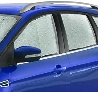 AutoTech Zone Sun Shade for 2015-2018 Volkswagen GTI 4 Door Hatchback, Custom-fit All Side Windows Sun Shade (4 Pieces)