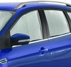 All Weather Protector 4 Piece Set AutoTech Zone Custom Fit Heavy Duty Custom Fit Car Floor Mat for 2010-2014 Subaru Outback Wagon Black
