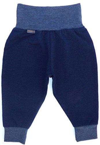 Babyhose von Mauala 50-104 (68, dunkelblau-jeansblau)