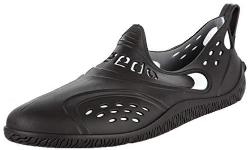 Speedo ZANPA AM 8056710299, Herren Sandalen, Schwarz (schwarz/weiß), EU 43