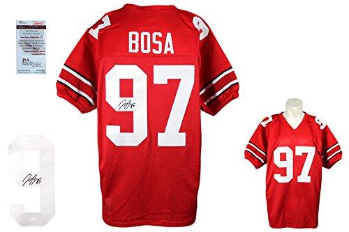 Joey Bosa SIGNED Custom Jersey - JSA Witnessed - Autographed