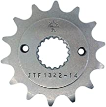 Compatible with Honda 1991-99 CRM250 1996-04 XR400 JT High Carbon Steel 14T Front Sprocket