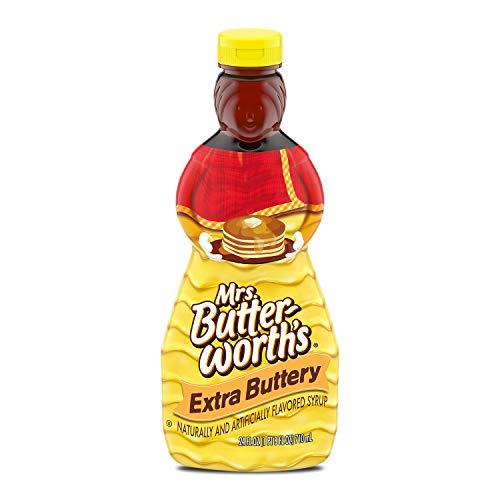 Mrs Butterworth#039s Extra Buttery Pancake Syrup 24 Oz 24 Fl Oz