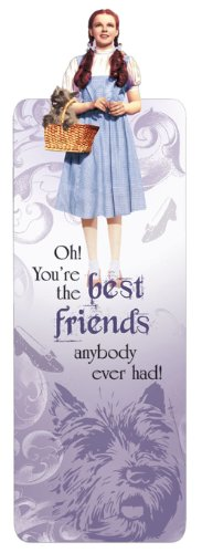 Paper House Productions BMGL-0007E Glitter Bookmark, The Wizard of Oz - Dorothy (6-Pack)