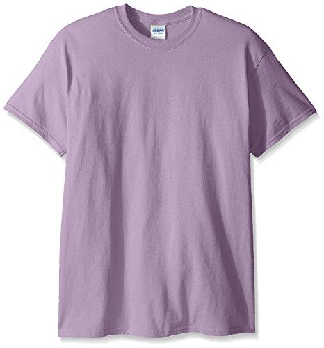 Gildan Men's G2000 Ultra Cotton Adult T-shirt, Orchid, Large