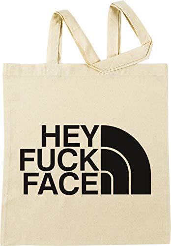 Vendax Hey Fuck Face - Fuck Beige Bolsa De Compras
