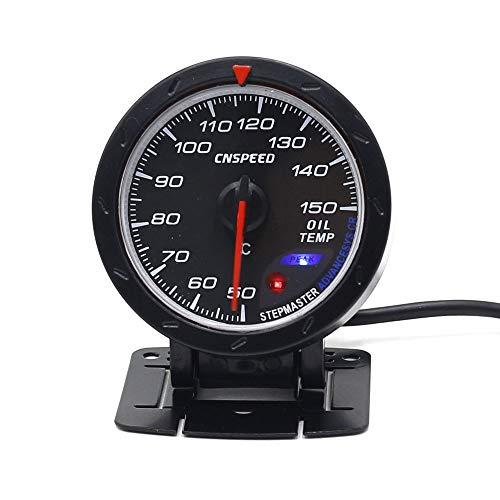 Dhmm123 Digital 60 MM Auto Öltemperaturanzeige Red & White Beleuchtung 20-120C Öltemperaturanzeige Auto Meter YC101350 Spezifisch