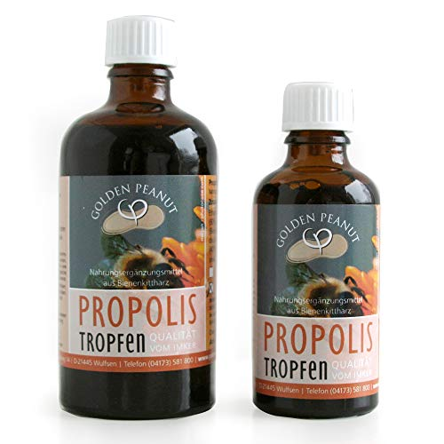 Propolis Tropfen Tinktur Bienenkittharz 40% 100 ml