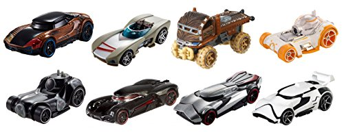 Hot Wheels Star Wars Character Cars (8 Pack)