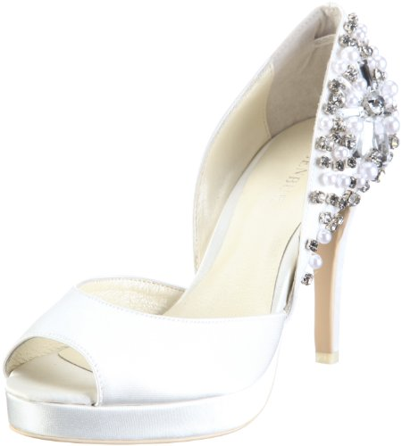 Menbur Wedding Damen Talo Pumps, Elfenbein (Ivory), 39 EU