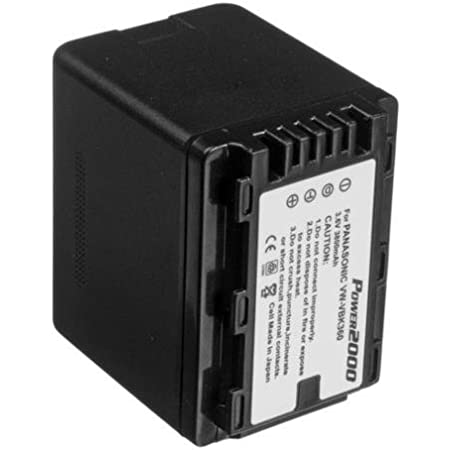VW-VBG070-K VW-VBG070A SDR-H280 SDR-H18 750mAh Li-ion High-Capacity Replacement Batteries for Panasonic PV-GS90 fits Panasonic VW-VBG070 SDR-H200 SD100