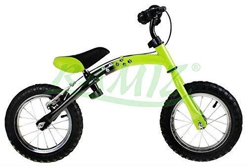 Kinder Laufrad BUMERANG WB-06CR AIR - ab 2 - 6 Jahren - 10 - 12 Zoll - einstellbar Fahrradrahmen - Kinderlaufrad - First Bike - GRÜN