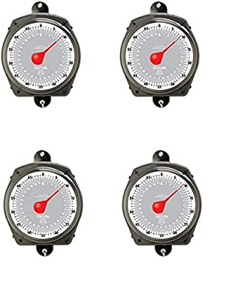 Taylor Precision Products Dial Style 70-Pound Industrial Hanging Scale (Fоur Расk)