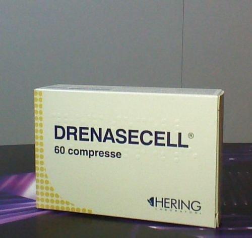 DRENASECELL integratore alimentare per cellulite liquidi 60 compresse