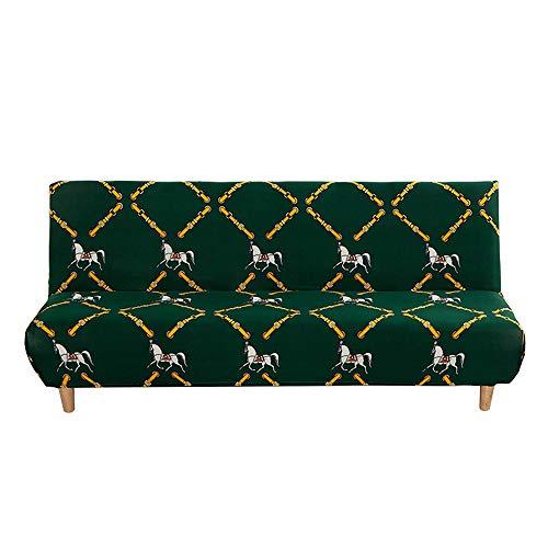C/N Funda de sofá Cama sin Brazos Fundas para futón Plegable Fundas...