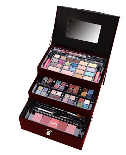ZMILE Cosmetics Schminkkoffer Beauty Case Velvety (dark berry)