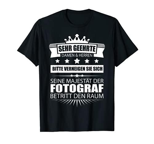 Herren Fotograf Shirt Hobbyfotograf Geschenk Profi Fotograf