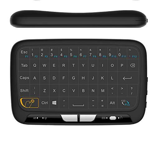buenos comparativa Mini ratón inalámbrico portátil de 2,4 GHz Todos los teclados recargables con panel táctil combinado … y opiniones de 2021