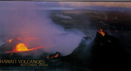 Hawai'i Volcanoes National Park Over 500 Piece Panoramic Puzzle