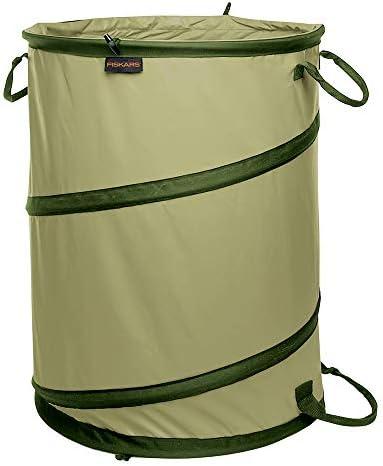 Fiskars Kangaroo Collapsible Container Gardening Bag, 30 Gallon, Green (394050-1004)