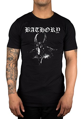 Official Bathory Goat T-Shirt Licensed Band Merchandise