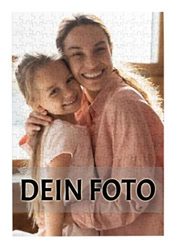 Personalisierte Foto-Puzzle 300 Teile, Individuelles Puzzle mit eigenem Foto, Puzzle mit eigenem Bild selbst gestalten, personalisiertes Fotogeschenk für Geburtstag Muttertag (26x38cm/10.2x15in)